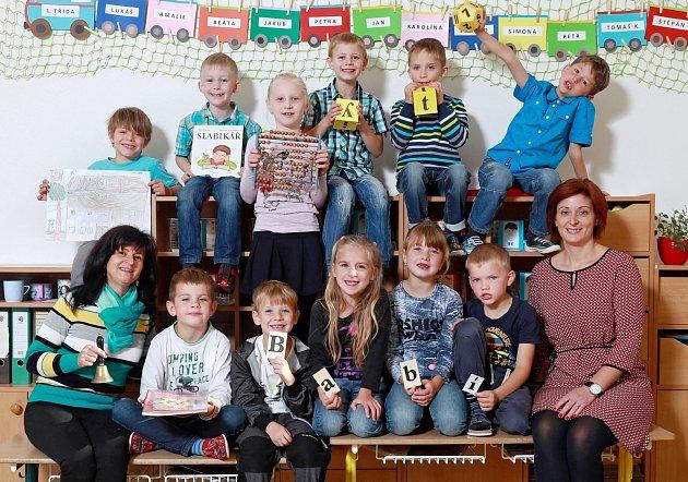 Žáci 1.třídy ze ZŠ Pavlišovská vNáchodě na Babí