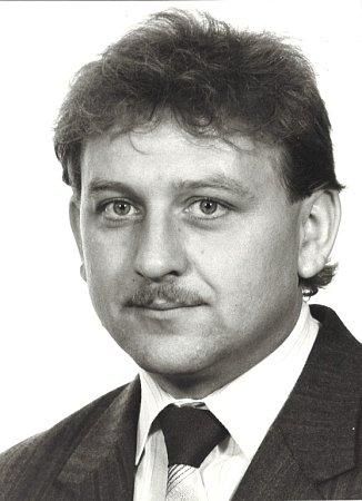 Milan Hruška jako federální poslanec  vr. 1992.