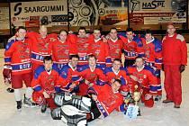 Vítězem letošního ročníku Hronovské ligy neregistrovaných se stal díky kontumaci zápasu s TJ Sokol Rokytník, tým Prezidentů.