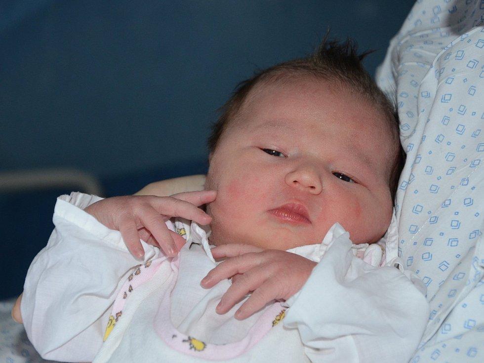 Eliška Mikundová z Náchoda je prvním děťátkem maminky Barbory a tatínka Jakuba. Holčička se narodila 5. února 2019 v 17,09 hodin a ukázalo se, že váží 3,9 kg a měří 52 centimetrů.