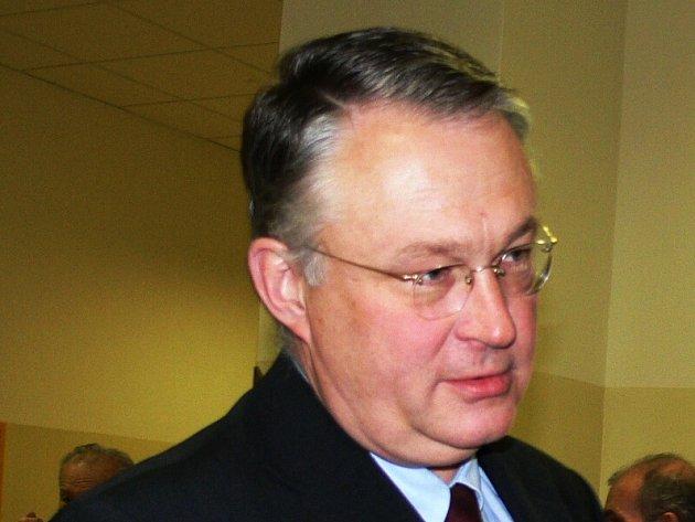 Ředitel Oblastní nemocnice Náchod Miroslav Švábl.