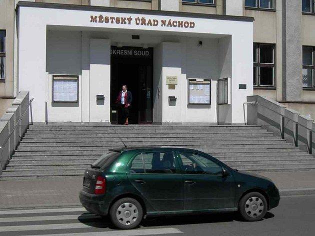 Budova Okresního soudu.
