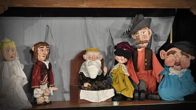 V jaroměřském muzeu jsou k vidění loutky i představení.