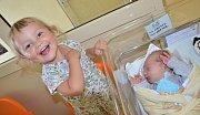 EDUARD KASPER se narodil 15.9. ve 13.48 hodin, vážil 3195 g a měřil 48 cm. S rodiči Naďou a Tomášem a se sestřičkou Anežkou bydlí v Podbřezí.