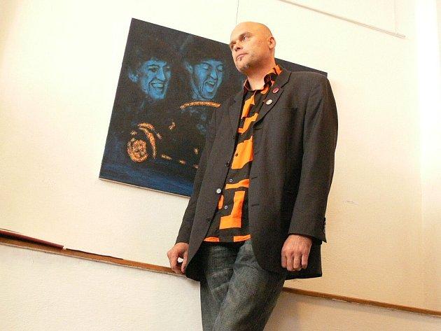 Výstava obrazů Romana Franty.