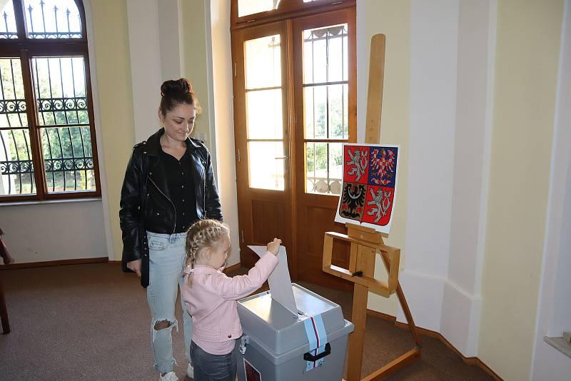 Volby v českoskalickém Muzeu Boženy Němcové