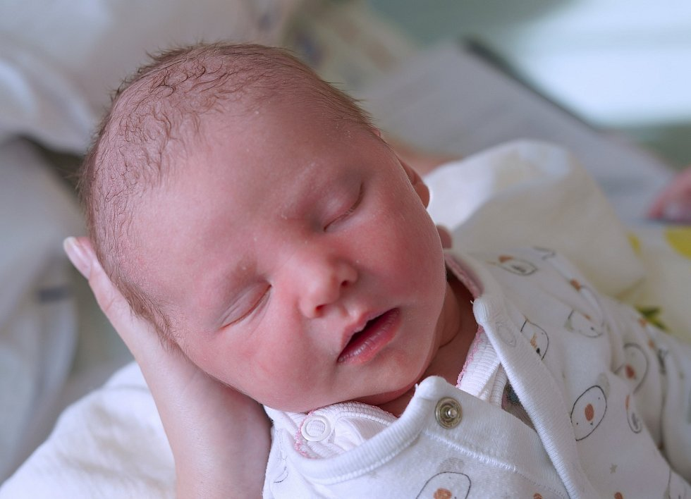 Tereza Karlecová z Hustířan se narodila 30. prosince 2019 v 19:41 hodin, vážila 3270 gramů a měřila 49 centimetrů. Terezka je prvním děťátkem rodičů Marie Bartschové a Romana Karlece.