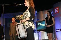 Sportovní královnou roku 2009 na Náchodsku se stala mažoretková mistryně Evropy Anna Bergerová.
