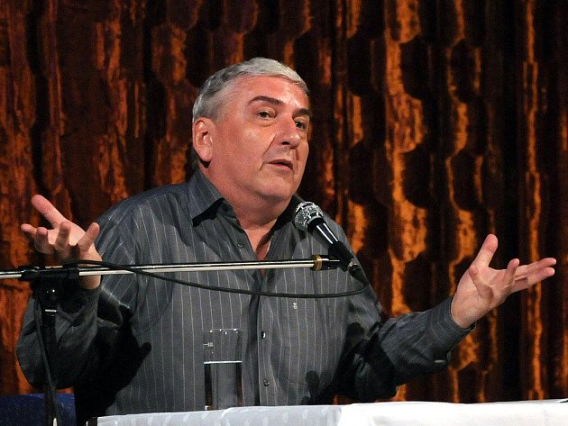 Miroslav Donutil v Hronově.