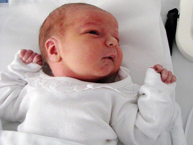 VIKTOR SLEZÁK přišel na svět 30. listopadu 2010 v 15:29 hodin s délkou 51 cm a váhou 3570 g. S rodiči Marcelou a Vlastimilem, a také s bratrem Davidem (12), má domov v Broumově.