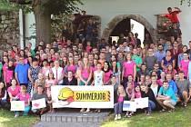 Letos byli dobrovolníci na Broumovsku už potřetí, a to v rámci projektu SummerJob.