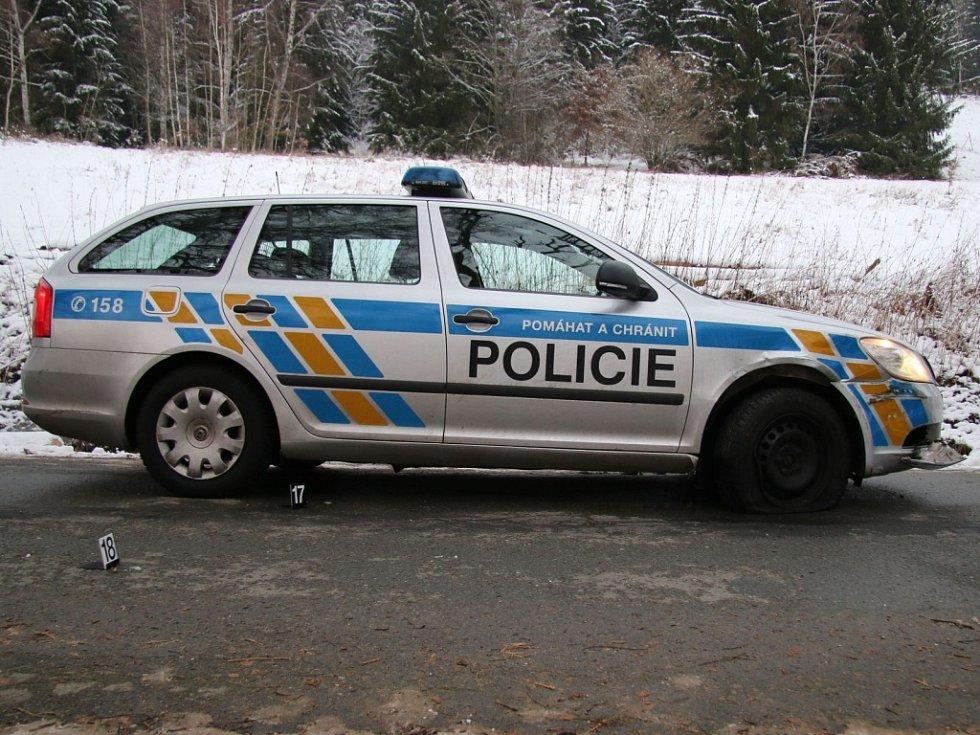 Zadržení cizince s odcizeným vozidlem.