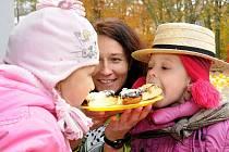 Děti z Mateřské školy Hronov si užívaly posvícenské veselí.
