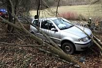 Dopravní nehoda u Police nad Metují
