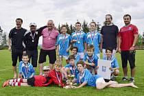 OKRESNÍ fotbalový výběr Náchoda kategorie U12 se probojoval do semifinále, které se odehraje v Hluku.