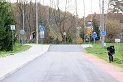 Kontroly vozidel a osob překračujících hraniční přechod do Polska v Náchodě - Bělovsi.
