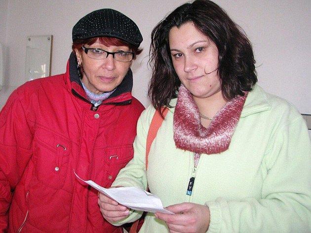 Mária Pokorná (vlevo) a její dcera Denisa.