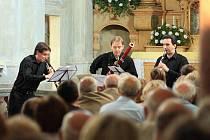 Trio Arundo v šonovském kostele sv. Markéty.