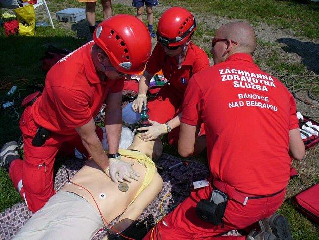 Vítězové   Rescue na Rozkoši jsou ze slovenských Bánovců.