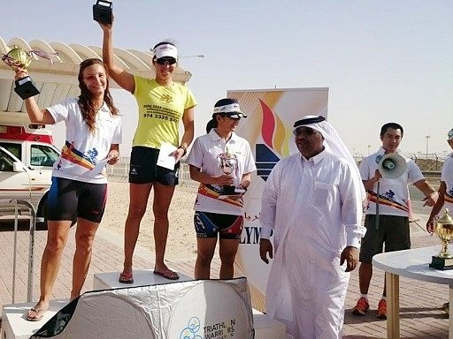 Na stupni vítězů závodu v běhu a jízdě stála i Markéta Klemmová.