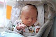 ANTONÍN BUREŠ z Olešnice přispěchal na svět 12. března 2018 v 15,07 hodin. Jeho míry byly 2180 gramů a 46 centimetrů. Radují se z něho šťastní rodiče Marie Kalousová a Filip Bureš.