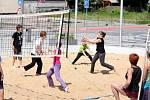 Plážový volejbal v Hronově.