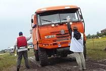 Zatím poslední úspěch bratrů Svobodových. Svoboda Tatra team si z Rallye Baja Hungaria přivezl pohár za třetí místo.