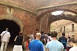 Exkurze do běžně nepřístupných prostor josefovské pevnosti.