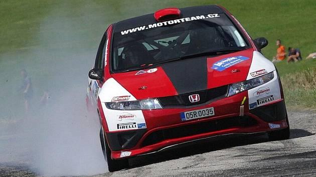 Novoměstský Motorteam.CZ si z Rally Vysočina přivezl celkové jednadvacáté místo.