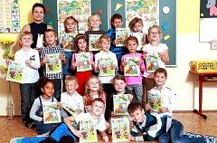 Žáci 1.B ze Základní  školy Komenského  v Novém Městě  nad Metují