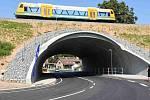 Ze Spů do Krčína řidiči jezdí po nové silnici za 48 milionů korun.
