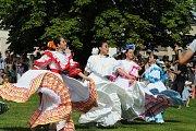 Folklorní festival v Červeném Kostelci