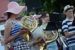 Muzikanti hráli s energií, nadšením a pro dobrou věc.