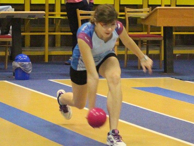 LUCIE MORAVCOVÁ měla v Rokycanech svůj výkon rozjetý na šestistovku, nepovedla se jí však třetí dráha.