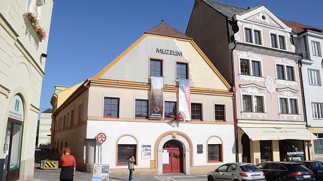 Muzeum Náchodska na Masarykově náměstí v Náchodě.
