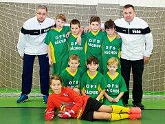 VÝBĚR OFS Náchod U10 vyhrál Zimní halovou ligu a postoupil na mezikrajské finále.