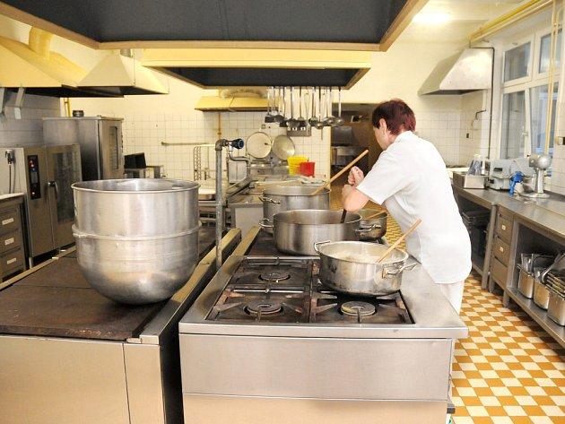 ŠKOLNÍ kuchyň a jídelnu čeká velká rekonstrukce.