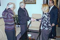 David Bamford, který stál u zrodu partnerství, navštívil nyní Náchod.