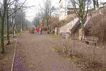 Alejka v Broumově.