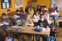Den otevřených dveří ve škole v Horním Kostelci.