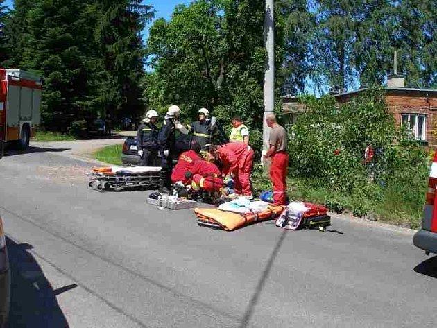 Nehoda u Vysoké Srbské.
