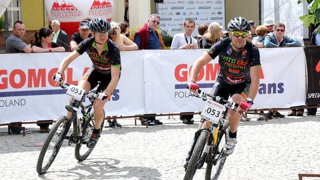 Etapový závod horských kol Sudety MTB Challenge 2012.