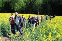 POŘÍČSKÉ TOULKY nalákaly rekordní počet turistů, cyklistů, či koloběžkářů do sluncem zalité přírody.