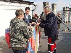 Česká Skalice se připojila k akci Vlajka pro Tibet.