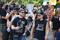 Festival Brutal Assault v Josefově.