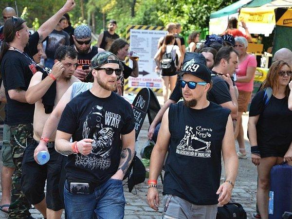 Festival Brutal Assault vJosefově.