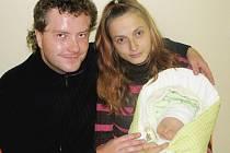 PAVEL NOVÁK přišel na svět 12. září 2010 ve 4:01 hodin s váhou 3100 g a délkou 47 cm. S rodiči Marikou a Pavlem, a se třemi sourozenci: Aničkou (3), Pavlínkoum (2) a Davídkem (4), bydlí v Horní Radechové.