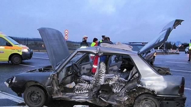 Nehoda u Rozkoše.