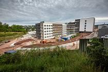 Stavba nemocnice v Náchodě