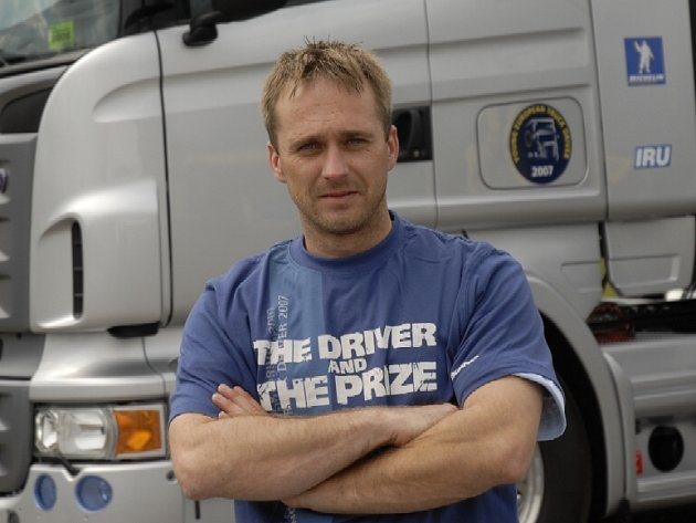 Šofér Roman Ryšavý.